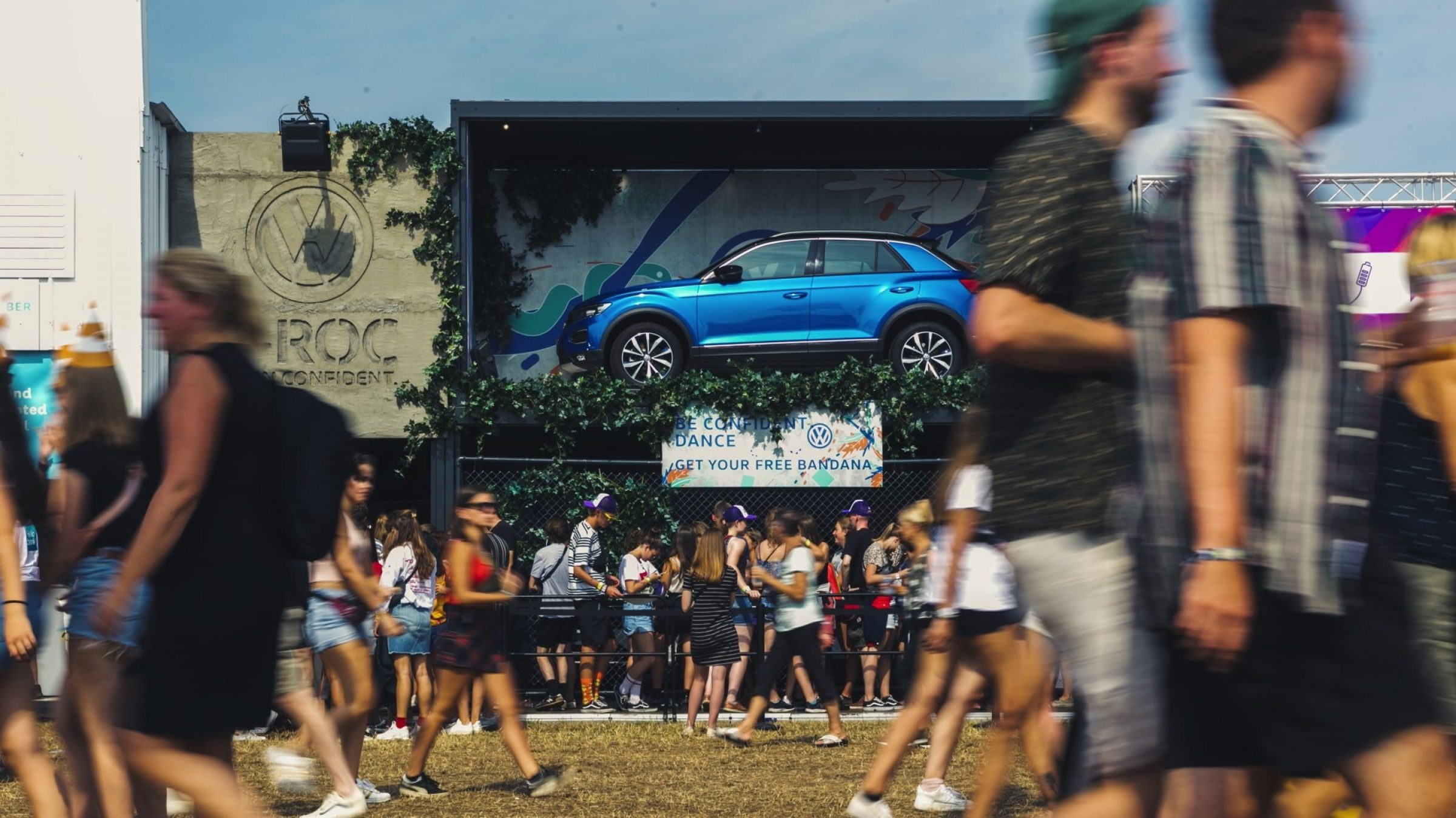 Fast Forward Evenementenbureau Gent Festivalstand Volkswagen T Roc 13