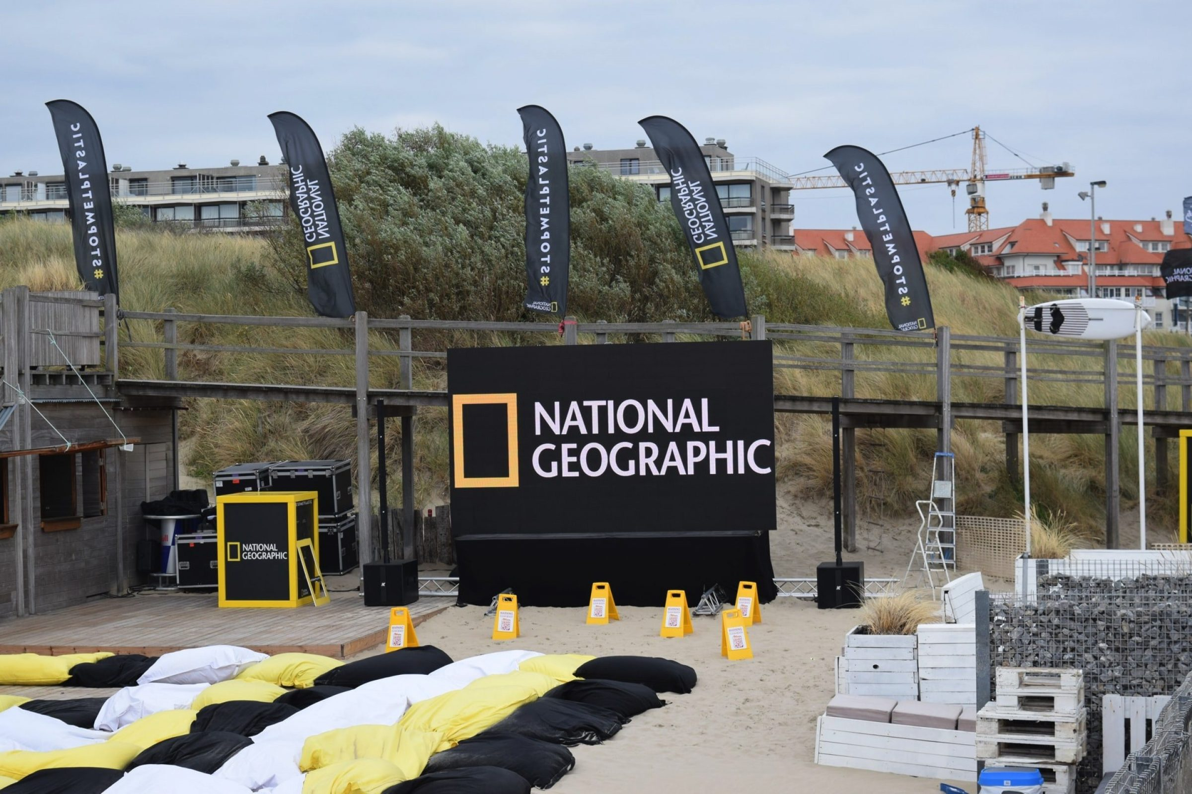 Fast Forward Evenementenbureau Gent Nation Geographic Publiek Event Surfclubnat Geo 2